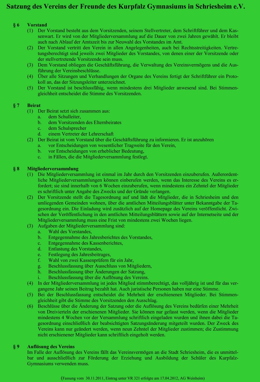 Satzung Stand 2012 Seite 2